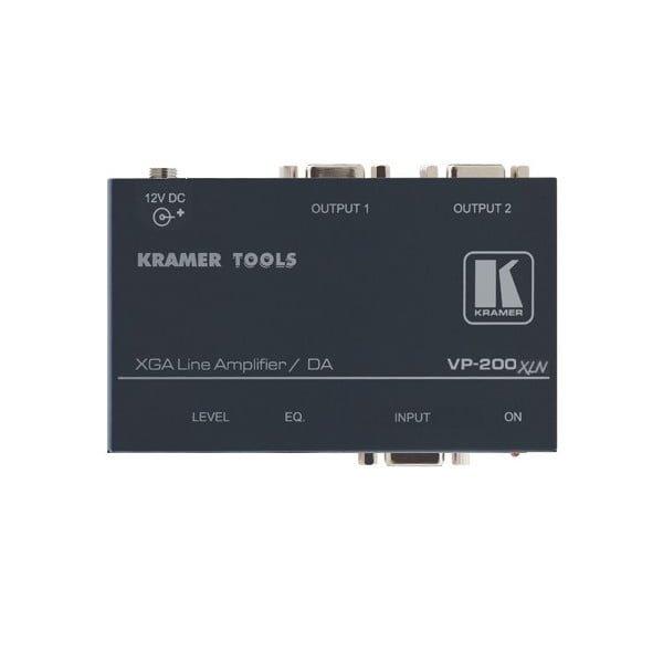 wzmacniacz liniowy dystrybucyjny 1:2 VGA WUXGAextender repeater do 100m