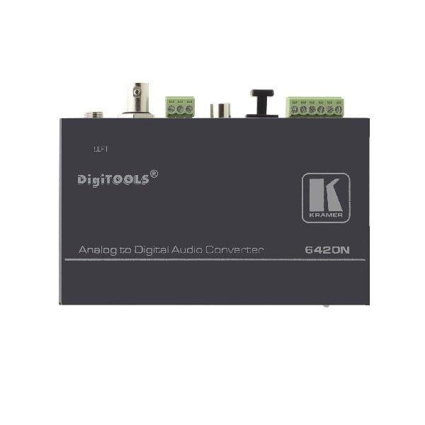 Konwerter symetrycznych sygnałów audio do cyfrowych wyjść AES/EBU, AES-3id, S/PDIF i Toslink