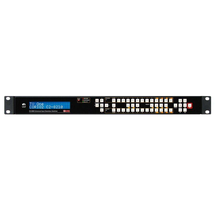 Uniwersalny procesor-przełącznik, 10x wejść DVI-U, 2x wyjścia DVI-U, wejście 3G/HD/HD SDI, wyjście 3g/HD/HD SDI, interfejsy audio, IP, RS-232/422/485