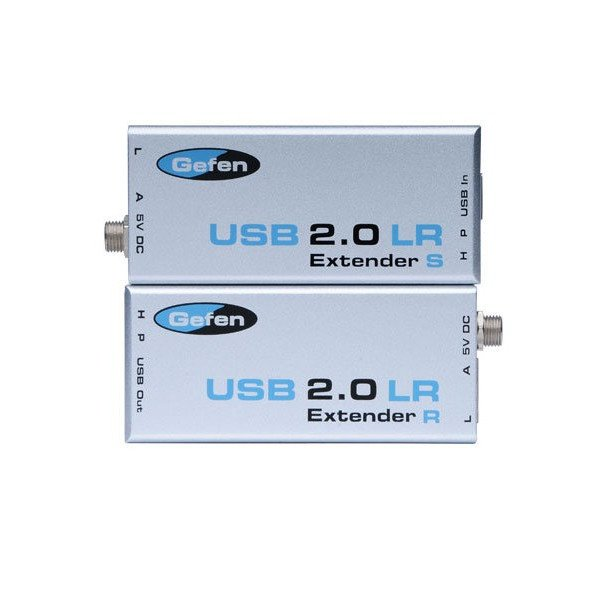 Extender USB 2.0 do 100m po kabla Cat-5, Cat-6, do 480 Mbps