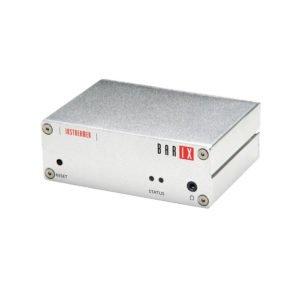 Enkoder audio do IP z wejściami liniowym RCA (L/R), formaty MP3, PCM, u-law i a-law (VoIP), źródło multicast i shoutcast