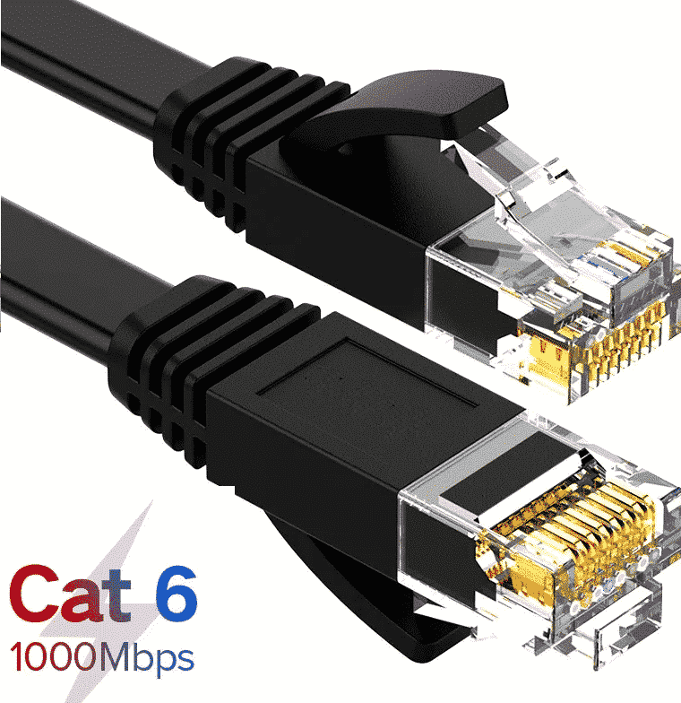 wtyczka LAN CAT5 CAT6