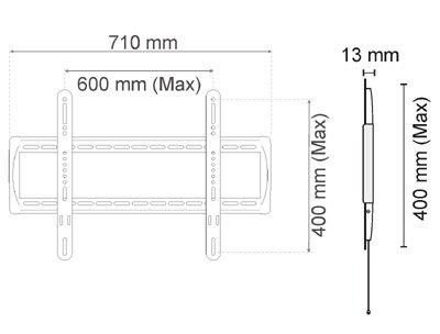 DB610 dimensions