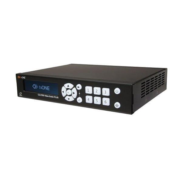 wieloformatowy Skaler Wideo Plus, HDMI, DVI, RGBHV, YUV, YPbPr, Composite, S-Video (YC), wejście SD/HD-SDI, wejścia wyjścia audio - terminale zaciskowe