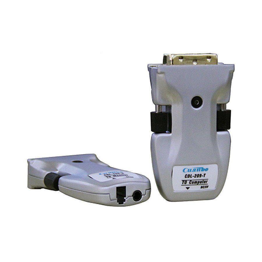miniaturowy extender optyczny DVI do 300m