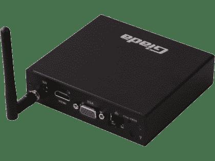 Odtwarzacz sieciowy audio (wideo) JRiver Player na bazie Giada F210U