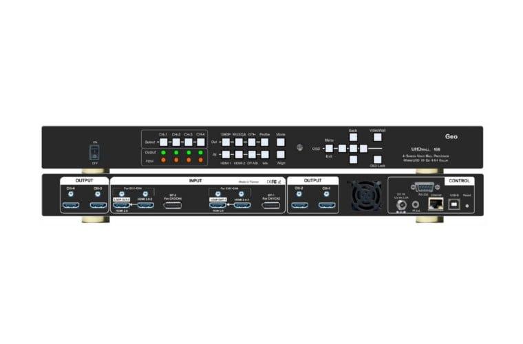 GEO 406L – nowoczesny procesor ścian wideo