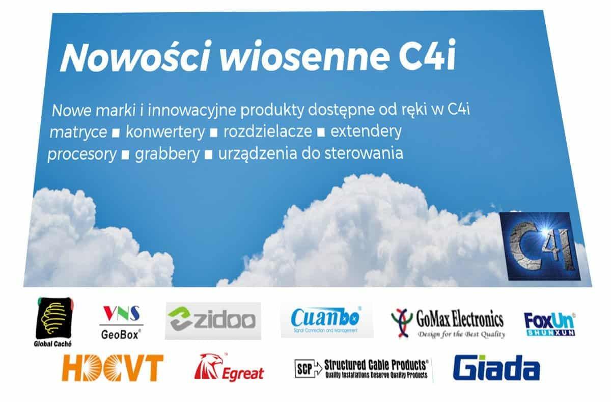 Nowości wiosenne C4i