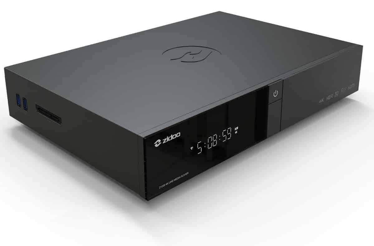Zidoo Z1000 – nowy odtwarzacz sieciowy 4K HDD już w Polsce