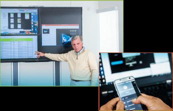 Hub do konferencji, wykładów, wyjścia 2x 1080p@60 lub 4k HDMI 2.0a, 5 wejść, do 5 okien (max 4 streamy wideo) na max 2 ekranach. Edycja okien, rozmiaru, położenia, blending, audio. Ethernet, WiFi. Windows, Mac, Android i IOS.