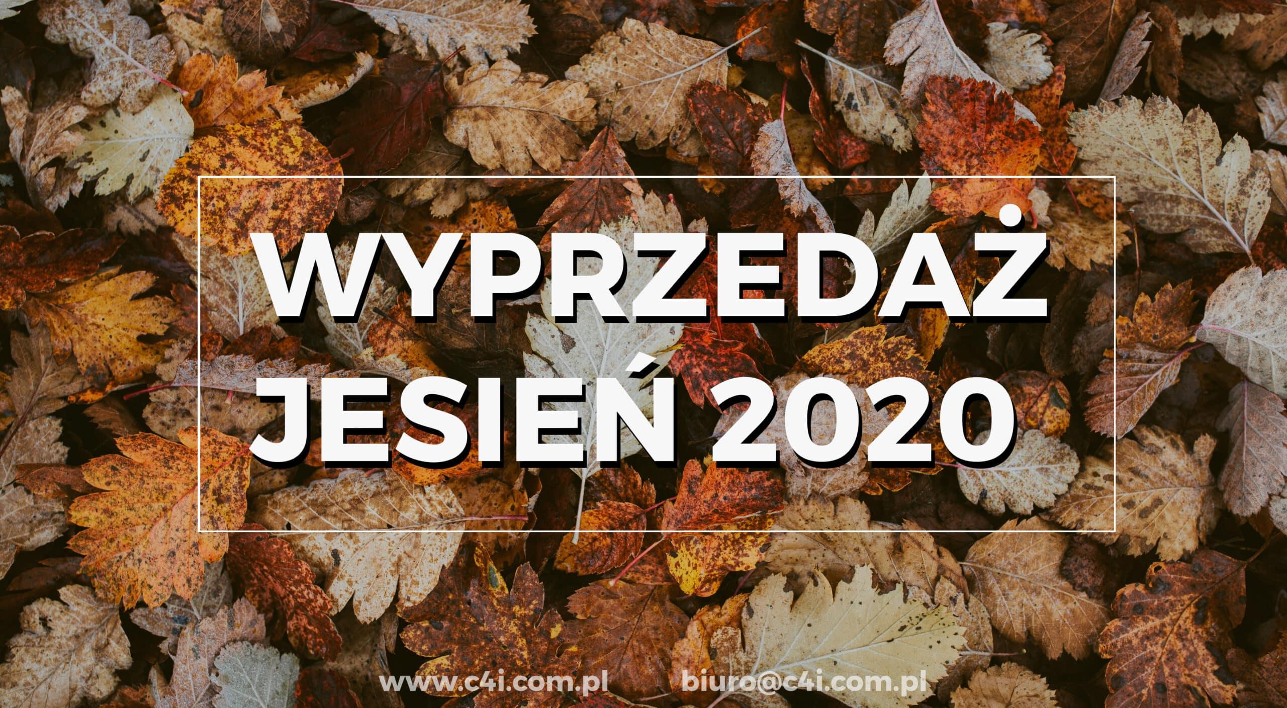 Wyprzedaż jesienna 2020