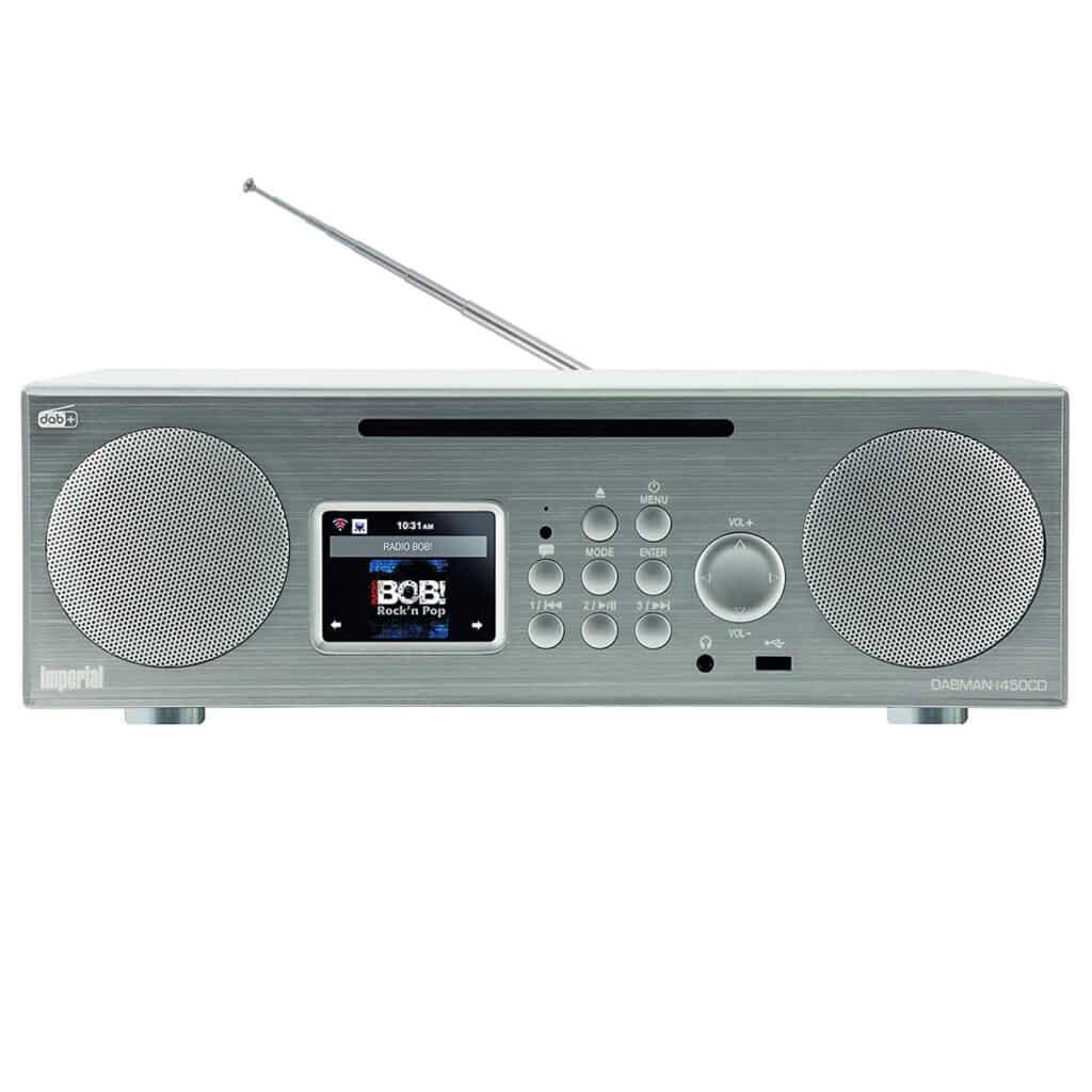 podwieszane radio internetowe hybrydowe DAB+ FM CD MP3 WMA AAC+ subwoofer 30W DABMAN LCD TFT main_front-view_01