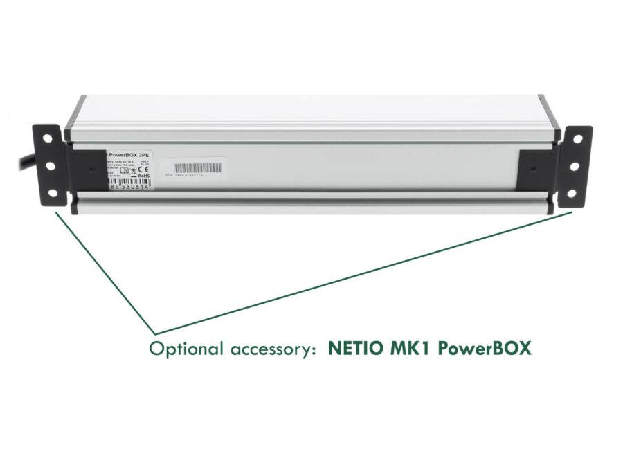 PowerBOX 3Px - listwa sieciowa 3 gniazda, sterowana wieloprotokołowo przez LAN