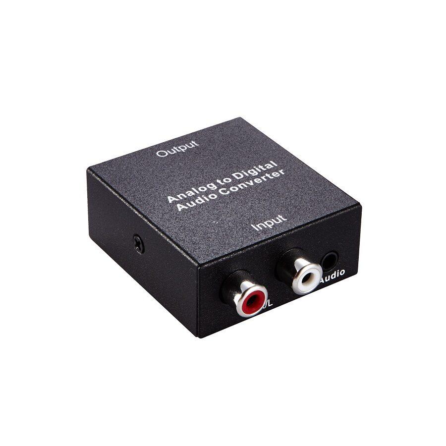 Konwerter Audio Stereo na Koaksjalne lub Toslink SPDIF 192kHz 24bit