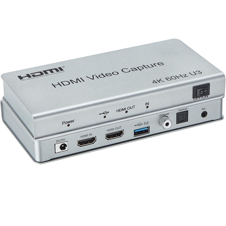 Kontroler ściany wideo HDMI 4K 2x2 +odtwarzacz. Wejścia: 1x HDMI, 2xUSB, 1x micro-SD; wyjścia: 4x HDMI, 1x audio stereo minijack