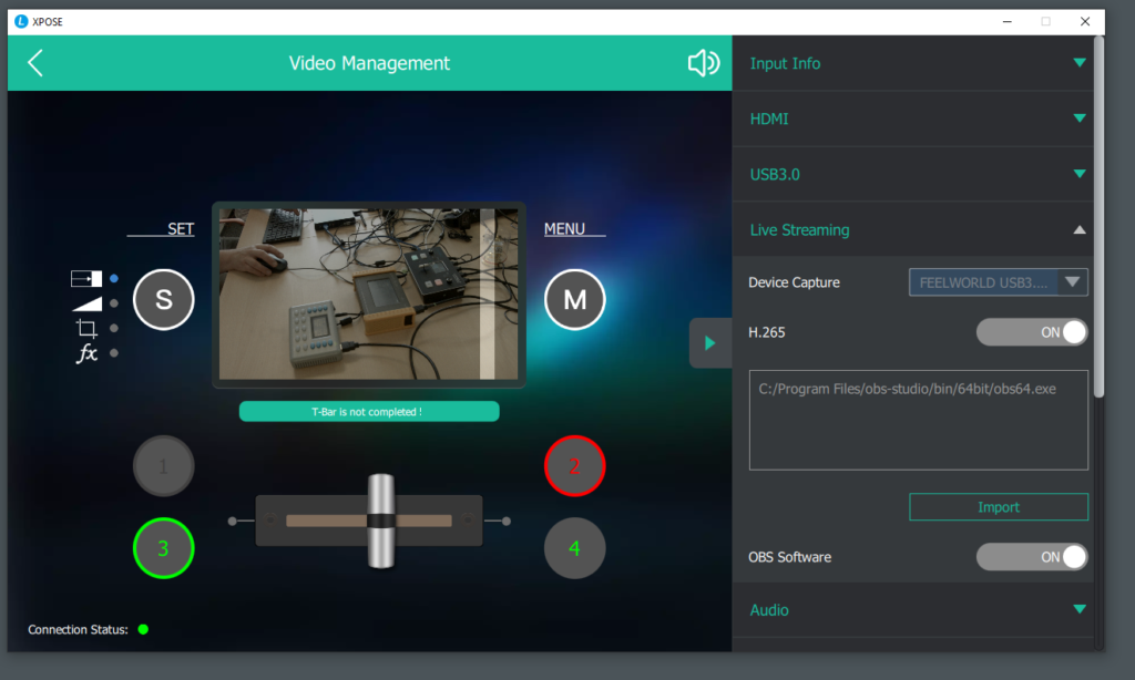 Feelworld Livepro OBS Youtube cooperation binding matching