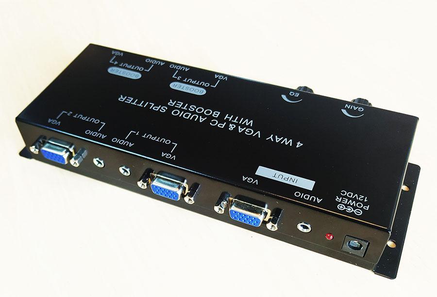 A1296 VGA Splitter 1x4 audio