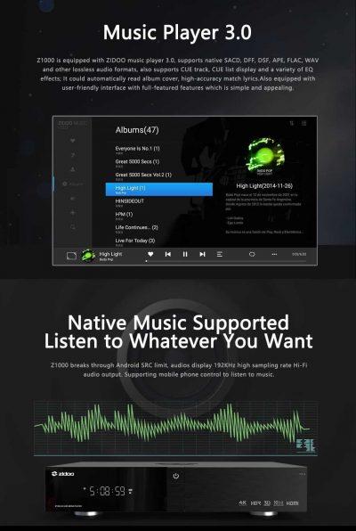 Zidoo-audio